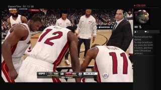 NBA Live 16 Career mode,Stats and MORE!!