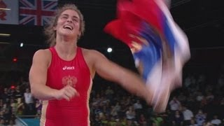 Vorobieva wins Gold - Women's Freestyle 72kg | London 2012 Olympics