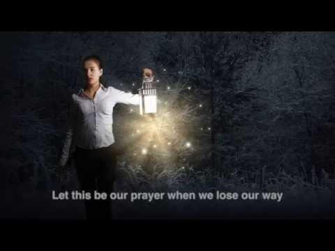 Michael Daly tenor sings The Prayer (with lyrics)