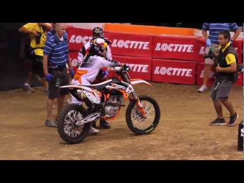 Ronnie Renner Wins X Games Los Angeles 2012 Moto X Step Up Gold