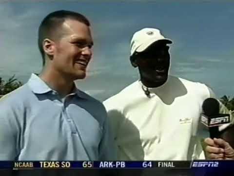 Michael Jordan & Tom Brady Team Up to Win Golf's 2006 Jordan Celebrity Invitational