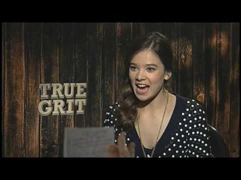 Hailee Steinfeld Interview for TRUE GRIT