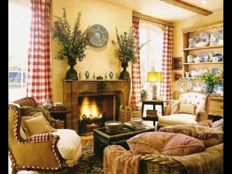 french country living room decorating ideas with black leather couch youtube