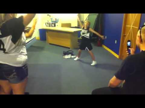 Dalton In My Cheerleader Uniform
