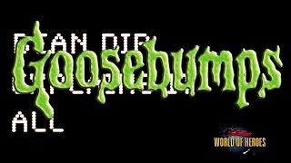 Bean Dip Explains It All  Goosebumps