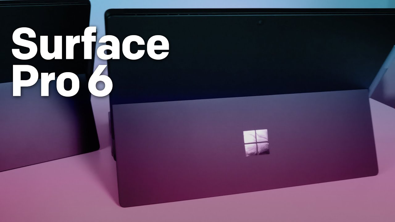 Microsoft's 'minor' Surface Pro 6 update is more exciting than you think