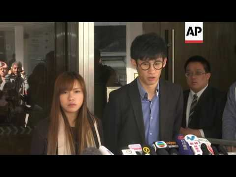 Appeal hearing ends for banned HKong lawmakers