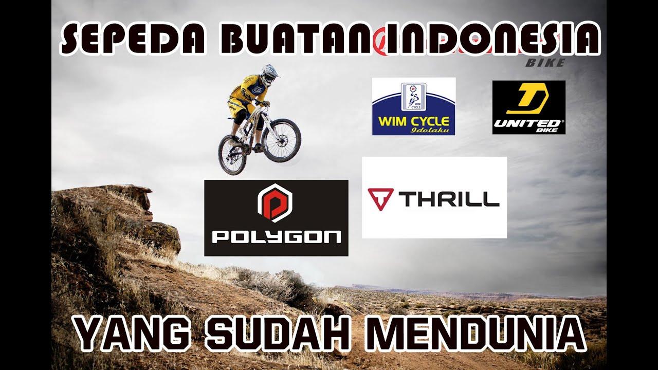 Apa Saja Merk Sepeda Buatan Indonesia