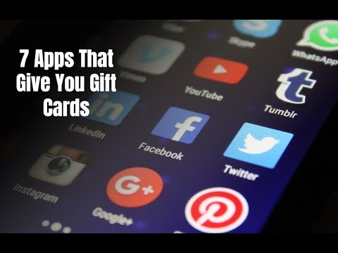 7 Apps That Give You Gift Cards in 2018