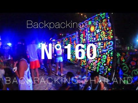 Full Moon Party Koh Phangan Thailand / Weltreise Vlog / Backpacking #160