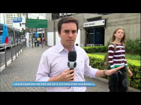 Assessor do metrô de São Paulo é preso por assédio