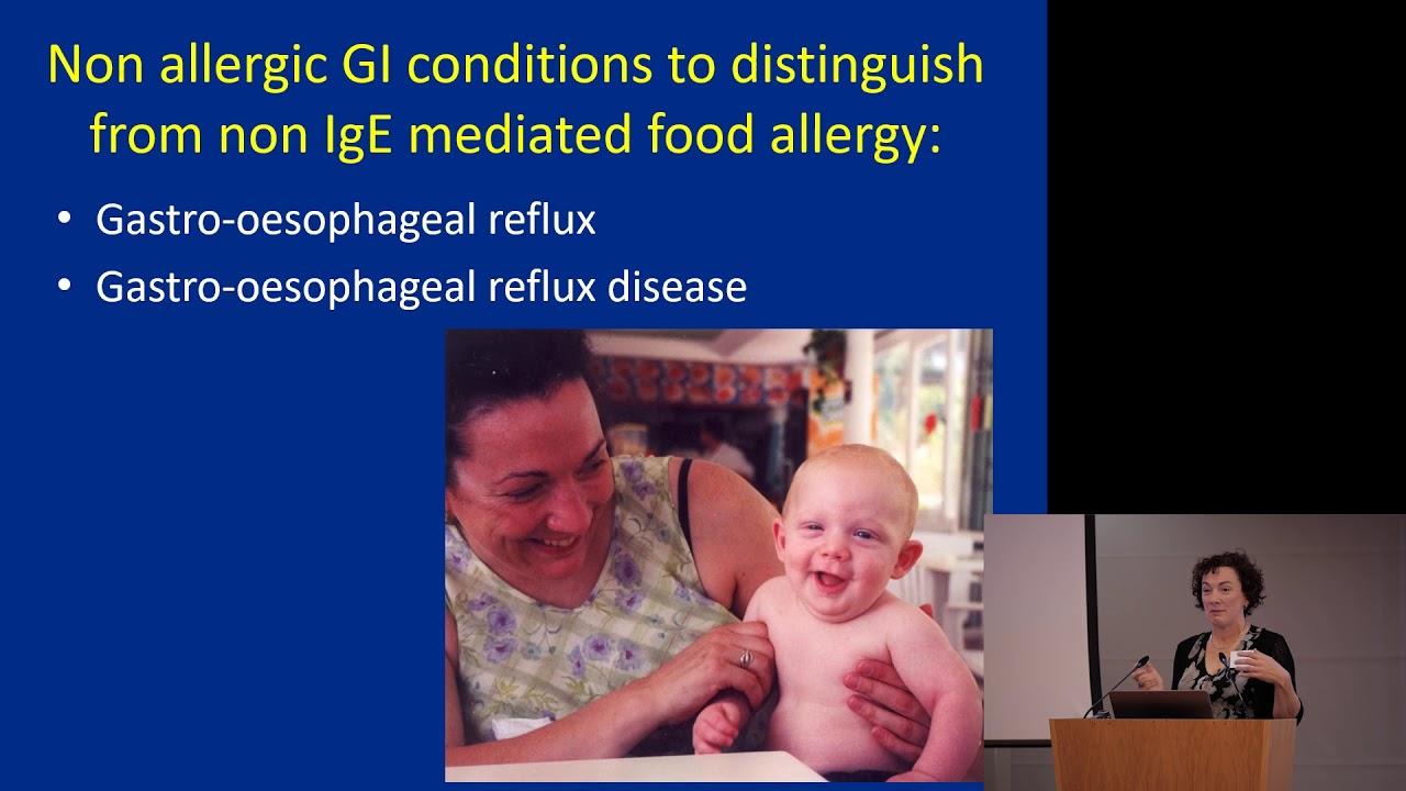 Non-IgE mediated food allergy - Dr Su Bunn