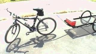Homemade Flatbed Bike Trailer.wmv thumbnail