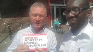 Martin's Minute Message: Voting for Labour's Steve Reed