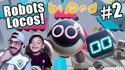 Lucha de Robots con mi Papá | Robots Locos Capitulo 2 | Juegos Karim Juega