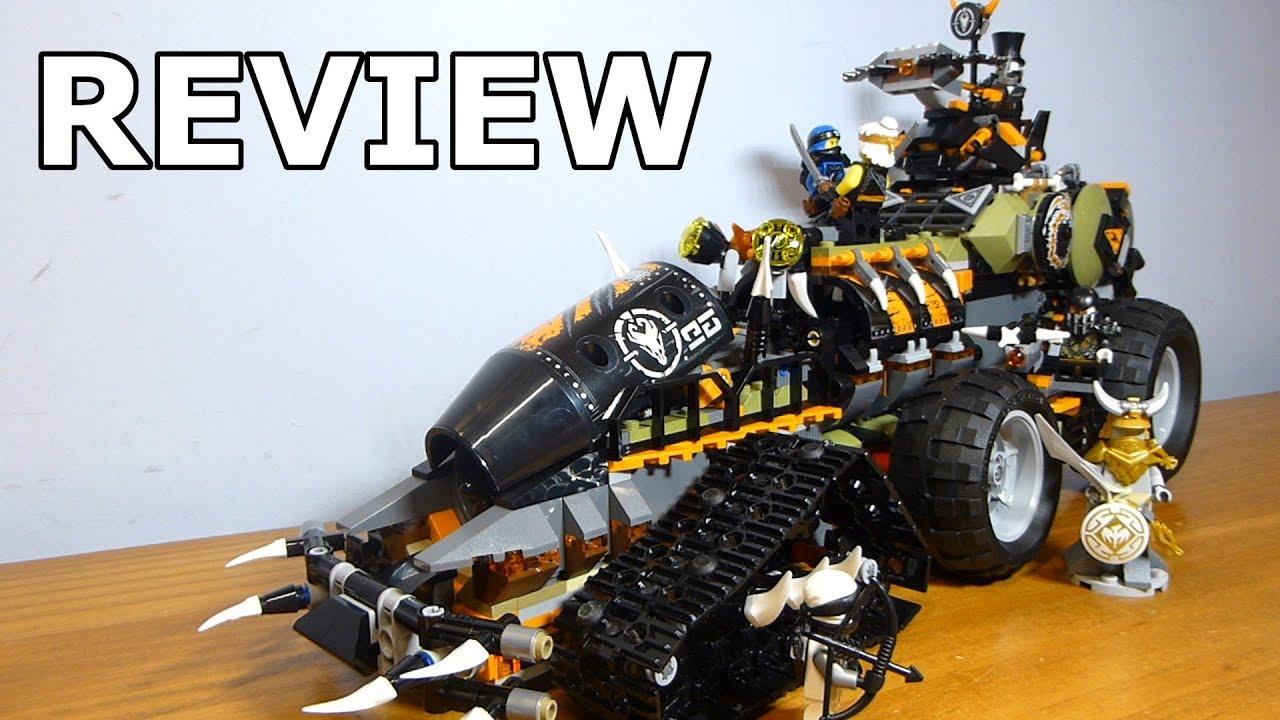 Lego Ninjago Hunted Dieselnaut Review Set #70654 - YouTube