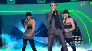 HD Måns Zelmerlöw - Cara Mia (Melodifestivalen 2007)