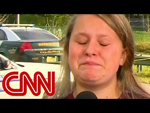 Student's tearful tribute to slain teacher: He saved my life