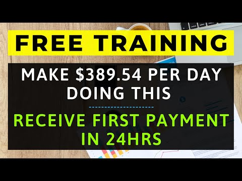 "How To Make Money Online FAST, FREE & EASY Using My ""$10K a Month"" Formula [FREE Training]"