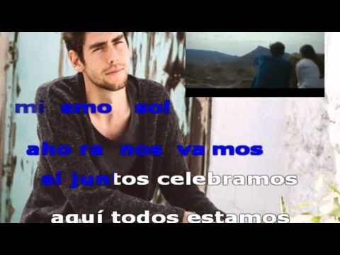 EL MISMO SOL - Alvaro Soler karaoke