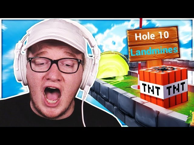 Playing Mini Golf Where The Holes Are RANDOM (ABSOLUTE MESS)