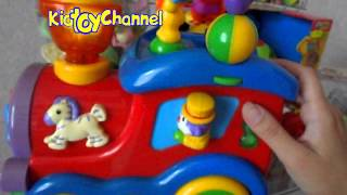 Видео обзоры игрушек 2016 - Детский паровозик (kidtoy.in.ua)(Игрушка детский паровозик. Развивающие игрушки для детей. Интернет-магазин детских игрушек и хозтоваров..., 2015-07-05T21:17:27.000Z)
