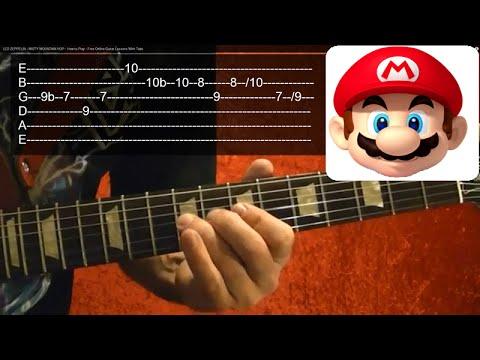 SUPER MARIO BROTHERS Theme - Guitar Lesson