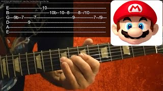 SUPER MARIO BROTHERS Theme - Guitar Lesson