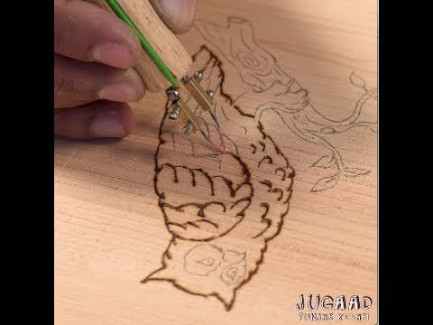 Simple Way to Make a Pyrography Wood Burning Tool Pen