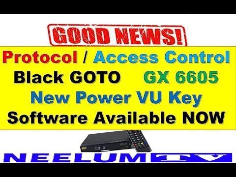Good News! Protocol,Access Control,Black Goto,GX6605 Sony Network New  Software Available Now