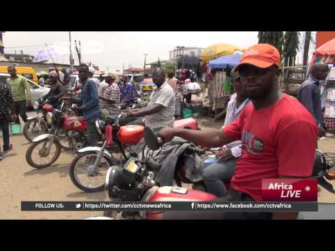 Nigeria's Motorbikes: Okadas Help Citizens to Beat the Traffic Jam in Lagos