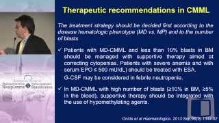 Diagnosis and Therapy of CMML in 2015