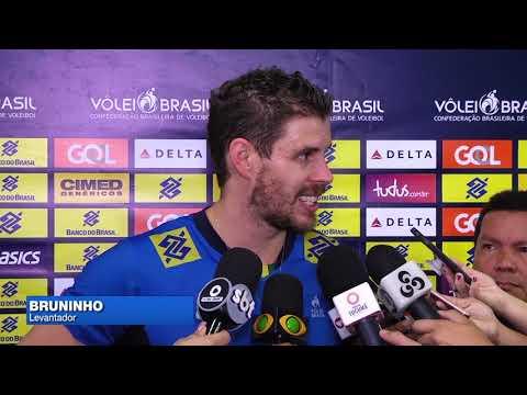 Vôlei: Os treinos de Brasil e Holanda antes de amistoso