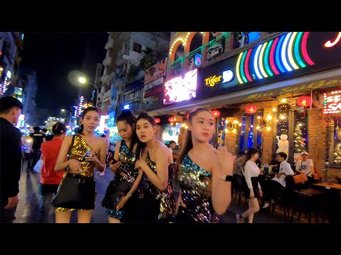 Vietnam Nightlife - Clubs & Bars on Bui Vien Street, Saigon / HCMC