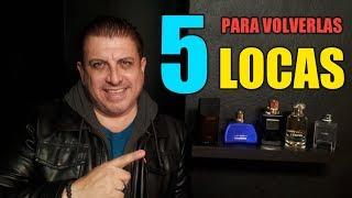"""TOP 5 Fragancias Masculinas PARA VOLVER """"LOCA"""" ( CRAZY !! ) a cualquier mujer !!"""