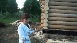 Отзыв о строительстве дома из строганного бревна компанией ДомаК - domak.ru