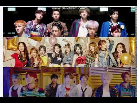 TWICE, EXO, and BTS to perform at the '2018 Pyeongchang Winter Olympics D-100 Concert'