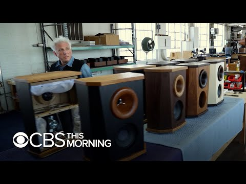 Jonathan Weiss' quest to build the finest sound amplification system ever