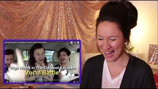 Vocal Coach REACTS to CARPOOL VOCAL BATTLE: Christina, Kelly, Demi, Adele...