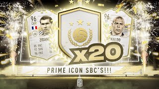 20 x PRIME ICON UPGRADE PACKS!!!! FIFA 21