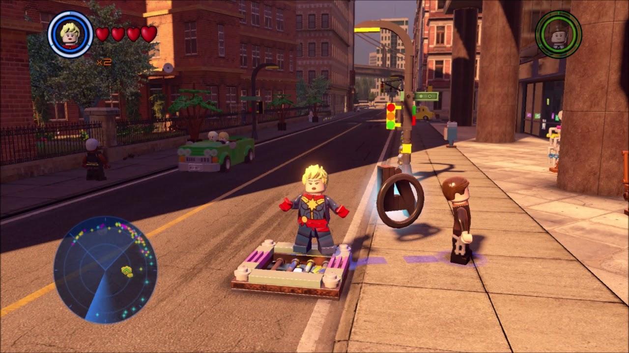 Lego Marvel Avengers. Upper East Side, Foyer Gold Brick ...