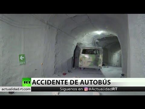 China: Al menos 20 muertos y 30 heridos en un accidente de autobús