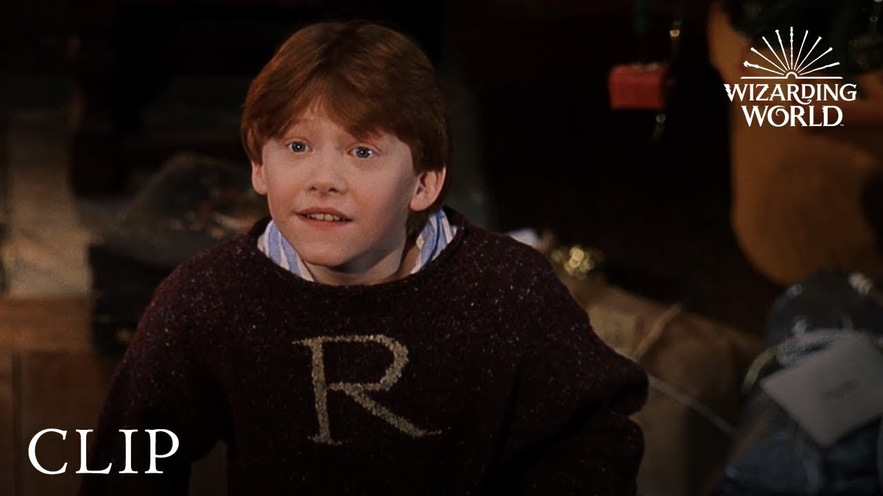 Happy Christmas Harry And Ron Harry Potter And The Philosophers
