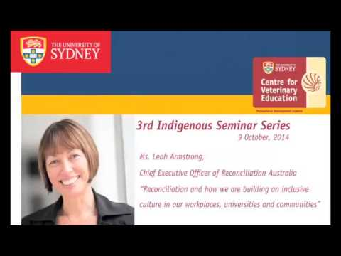 Reconciliation and how we are building an inclusive culture in our workplaces, universities and..