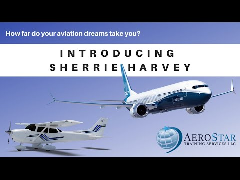 Introducing Sherrie Harvey   Part 141 Program Manager, Instructor and Check Instructor