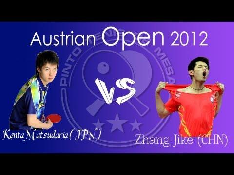 Austrian Open 2013: Zhang Jike vs. Kenta Matsudaira