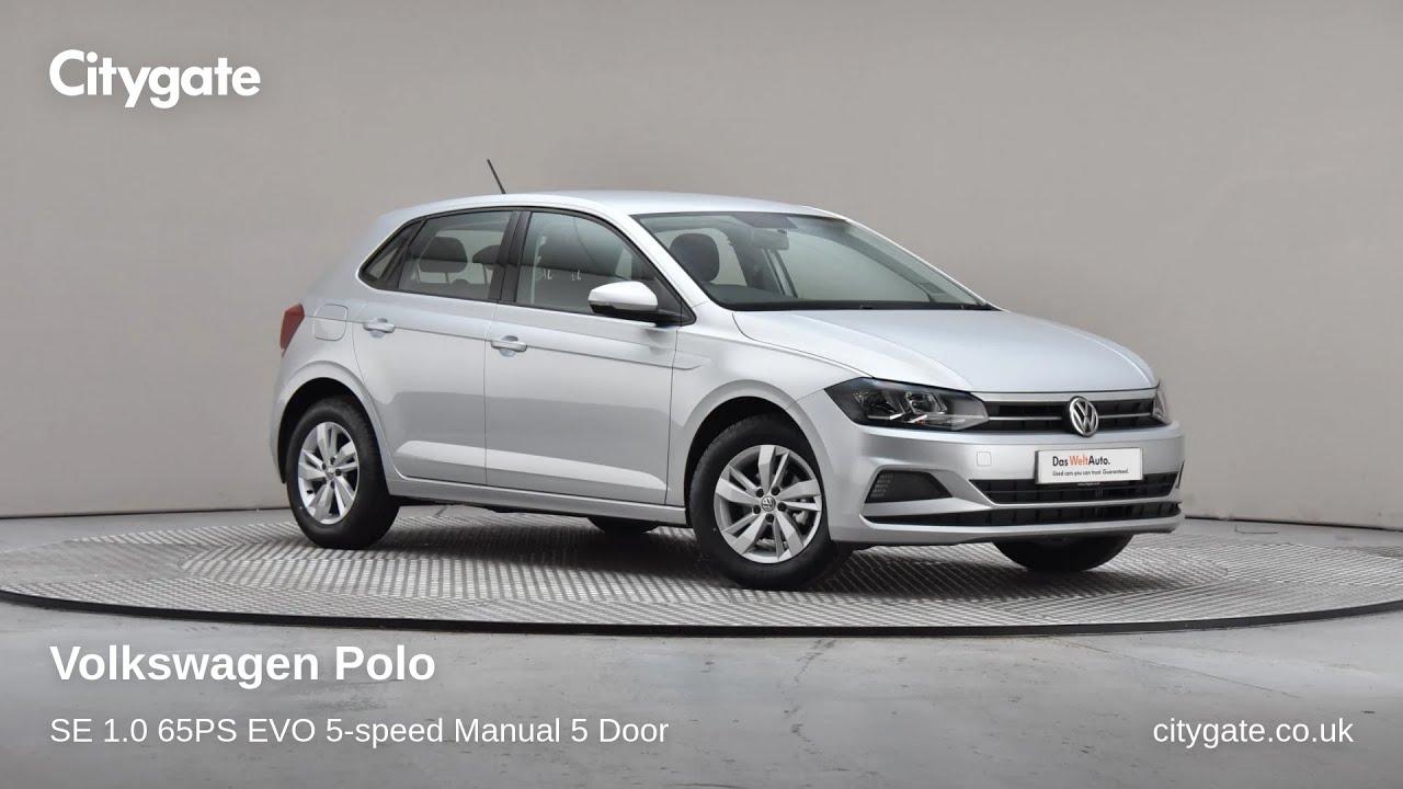Volkswagen Polo - SE 1.0 65PS EVO 5-speed Manual 5 Door - Citygate Volkswagen Chalfont - YouTube