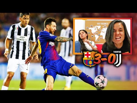 REACCIÓN AL BARCELONA VS JUVENTUS EN FASE DE GRUPOS DE CHAMPIONS LEAGUE (3-0) | Dúo Dinámico