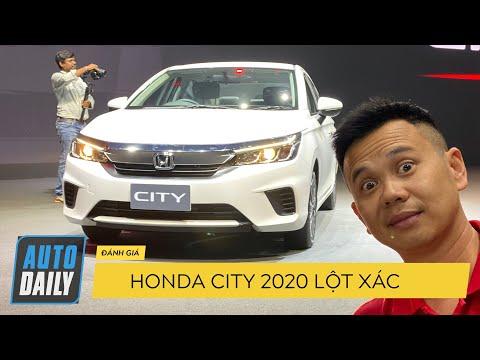 Đánh giá nhanh Honda City 2020: Lột xác hoàn toàn, QUÁ ĐẸP, như ACCORD