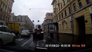 Небольшое ДТП на Невском проспекте